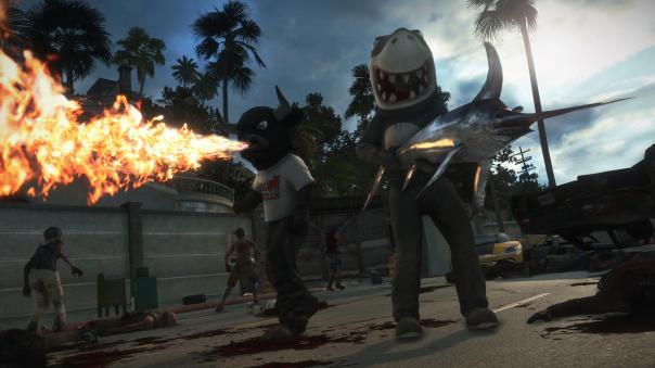 dead rising 3 shark
